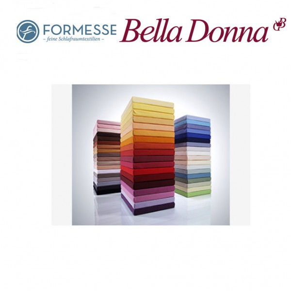 Formesse Bella Donna Jersey-La Piccola Spannbettuch für Topper bis 10 cm hoch