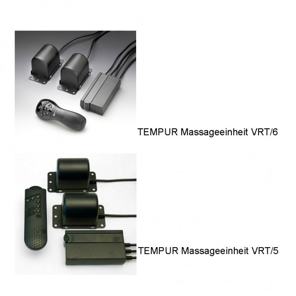 Tempur Massageeinheit VRT/6