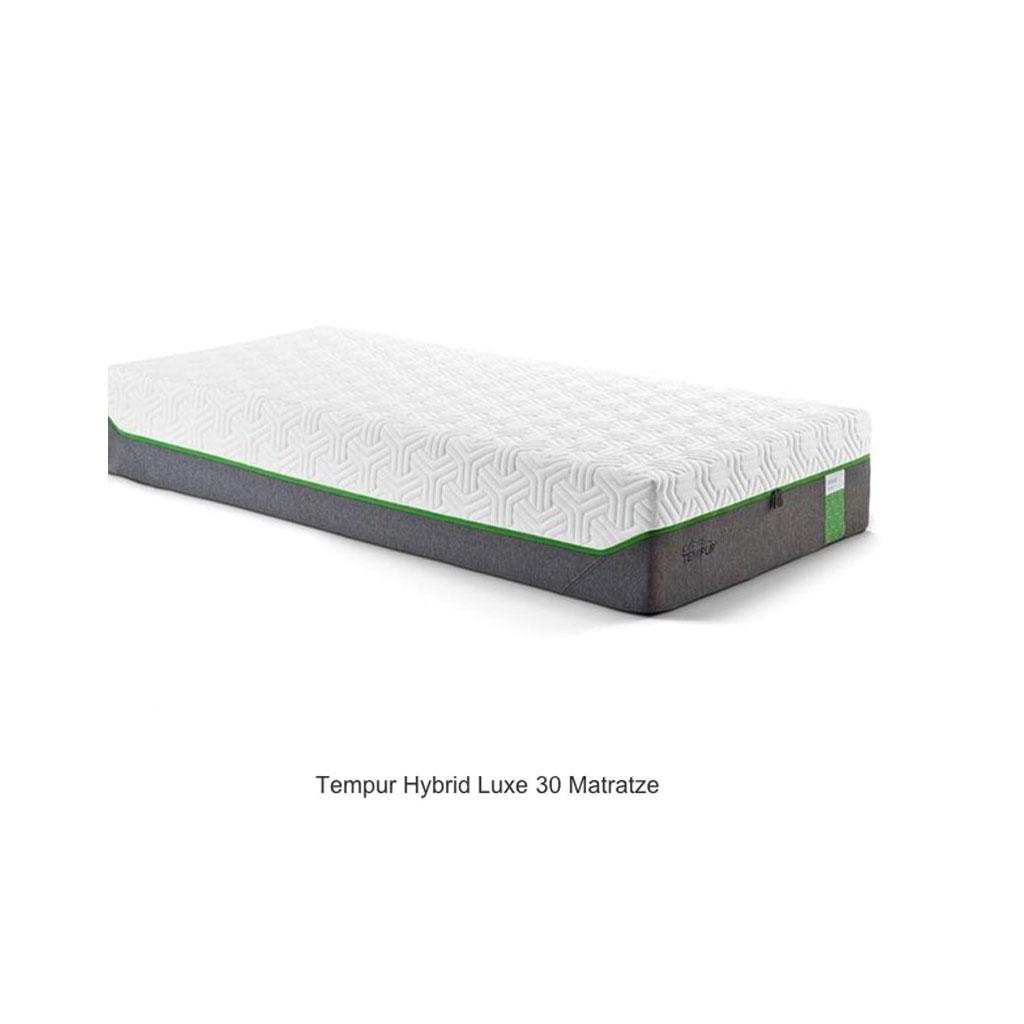 tempur hybrid luxe matratze viskoschaummatratzen matratzen. Black Bedroom Furniture Sets. Home Design Ideas