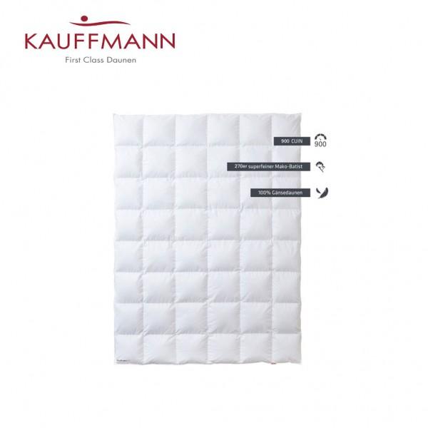 Kauffmann 900 Daunendecke WK: warm