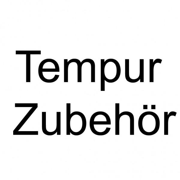Tempur Bettadapterset m. Stützfüßen (2 Adapter/1 Stützfuß)